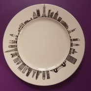 Assiette &laquo;&nbsp;New York&nbsp;&raquo;