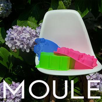 moule, une sélection de moules à gateaux en silicone et des emporte pièces pour la patisserie par assiettes et compagnie