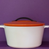 Cocotte ronde Révolution orange