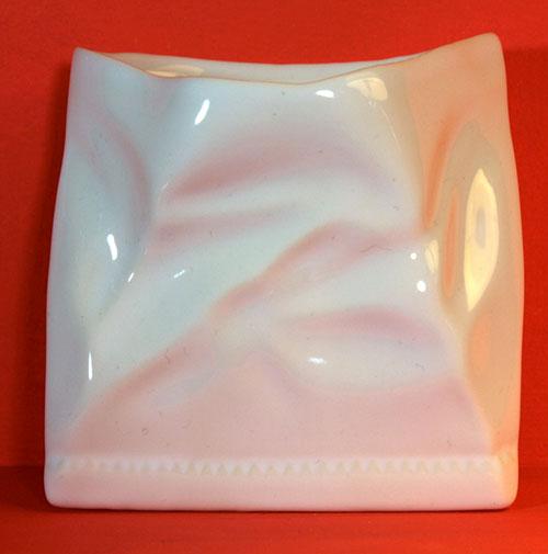 cornet de frites en porcelaine par Revol porcelaine, made in France