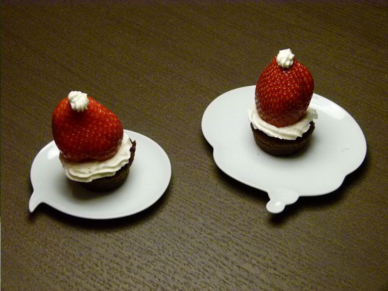 dessert ou le plat de présentation (ici ma collection personnelle de ...