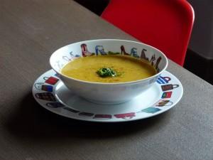 soupe assiette escarpins