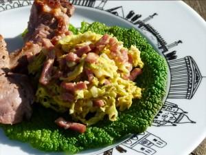 assiette paris canard et chou