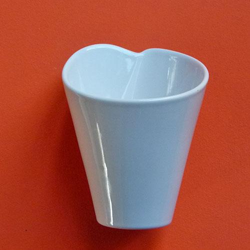 pasta box en porcelaine blanche