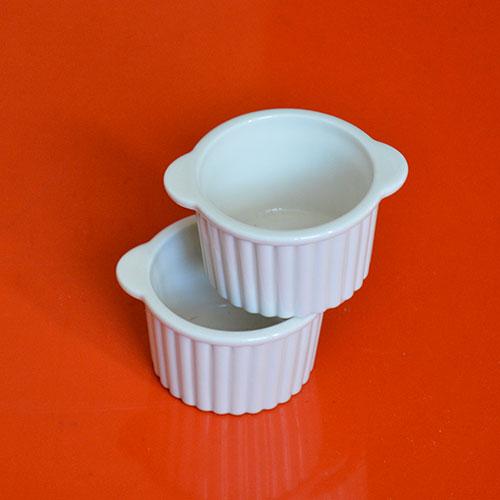 les ramequins revol en porcelaine ivoire pour vos petits plats individuels, made in france