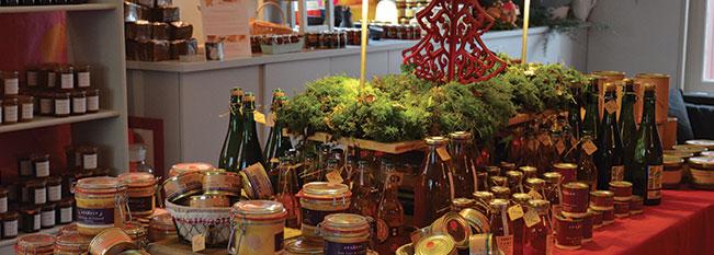 les ventes privées de noel 2015 seront sous forme d'épicerie éphémère et cours de cuisine gratuits
