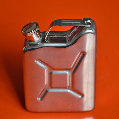 un jerricane dans votre sac avec cette petite gourde, façon flasque à alcool ou à eau pour avoir sous la main le coup de fouet qui nous fait du bien