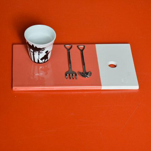 planche gourmande Revol pour y déposer vos plats ou vos desserts, vos cafés gourmands et toute autre gourmandise - porcelaine professionnelle - made in france