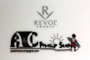 Logo Family Surf par Assiettes et Compagnie