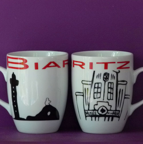 mug Paris New York par Assiettes et compagnie fabrication française par Revol