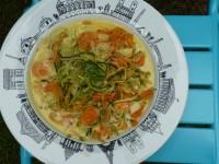plat creux Paris par Assiettes & compagnie - tagliatelles légumes curry