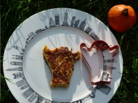 assiette new york courge spaghetti halloween