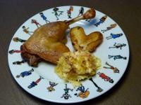 assiette canard