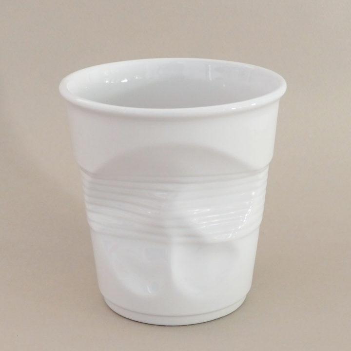 pot à ustensiles blanc par Revol