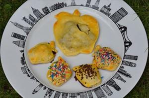 tarte aux myrtilles comme a new york, les pop tarts myrtilles , recette sur assiettes et gourmandises