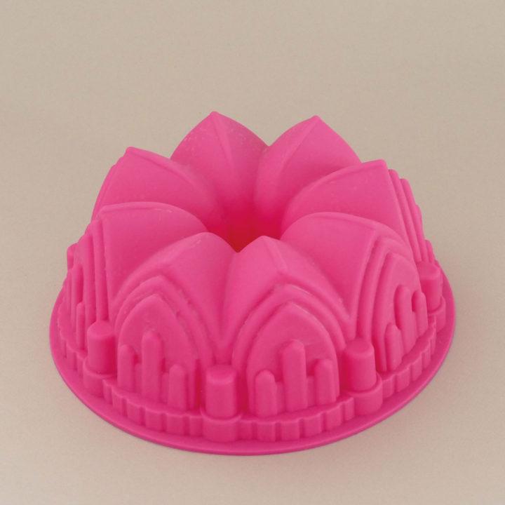 moule à gateau en forme de couronne, du silicone alimentiare, archi facile d'utilisation une sélection d'assiettes et compagnie