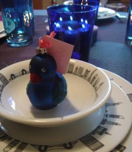 placer les invités en mettant de jolis clins d'oeil sur votre table