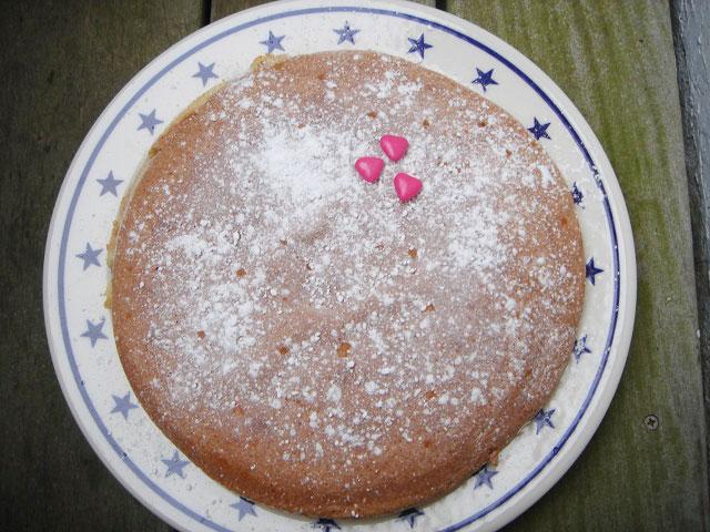 gateau peau d'ane dans la rubrique recette coquine, pour la saint valentin