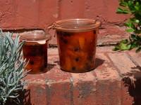 la confiture abricot cassis, une recette extraordinaire un secret de famille sur assiettes et gourmandises