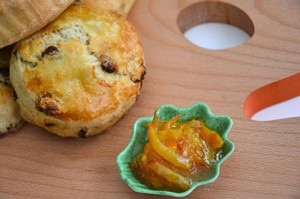 des sconse aux raisins pour l'heure du thé, recette de sconse anglais facile et délicieuse par assiettes et gourmandises