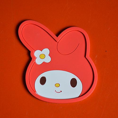 Ceci Nest Pas Un Lapin >> Dessous Plat Miniature Lapin Assiettes Compagnie