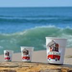 la nouvelle tasse espresso la plage, une série limitée d'assiettes et compagnie, made in france par manufacture revol