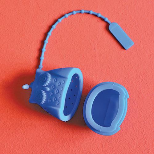 infuseur en forme de chouette et en silicone alimentaire, pour infuser votre thé, se lave en machine ... une sélection d'assiettes et compagnie