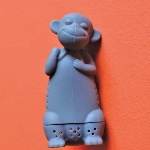 infuseur singe pour faire votre thé toute en acrobatie