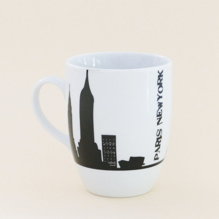 MUG PARIS NEW YOK PAR ASSIETTES ET COMPAGNIE