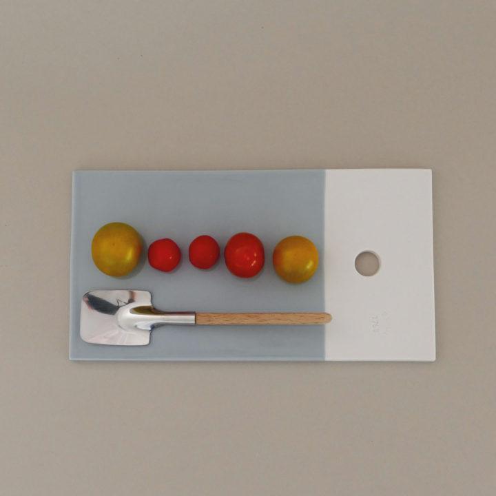 les planches gourmandes Revol en couleur , une très jolie idée pour présenter différemment vos plats, en porcelaine procfessionnelle et fabriquées en france