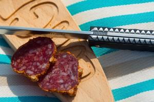 planche à découper longboard par assiettes et compagnie