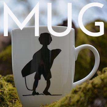 tous nos modèles de mugs en porcelaine sont fabriqués par la maison Revol - design par béatrice Lassus Pene pour Assiettes et compagnie
