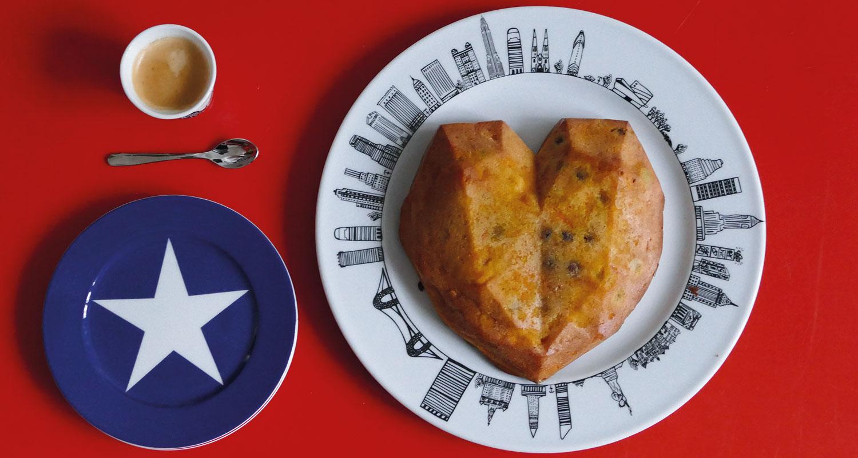dessert de carrot cake sur plat new york une recette de béatrice lassus pene pour assiettes et compagnie