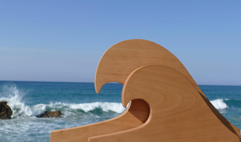 collection family surf par assiettes et compagnie, un univers complet sur le thème des vacances et de la plage