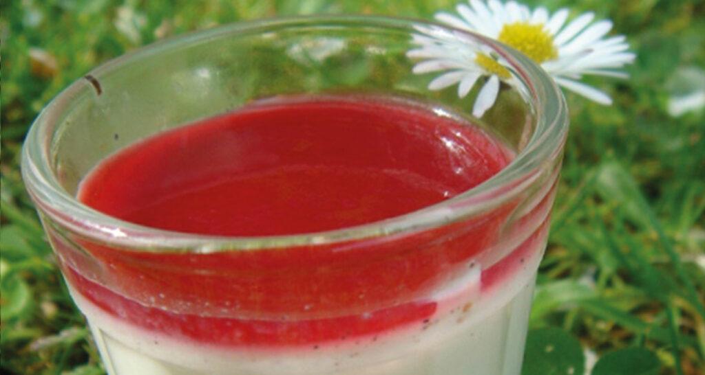 les desserts en rouge et blanc, un hommage aux fêtes de Bayonne , avec cette série de recettes de béatrice pene lassus pour assiettes et compagnie